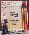 Bastet Sculptural Egyptian Picture Frame