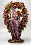 Gatekeeper Fairy with Pink Roses
