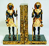 Egyptian Guardian Bookends Statues
