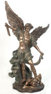 Saint Michael Sculpture 31 3/4