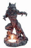 Werewolf Candle holder Sculpture