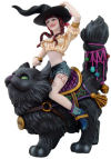 Transpurrtation - Witch on cat Sculpture