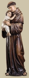 Patron Saint Anthony With Child Sculpture