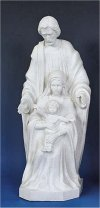 Holy Family Faux Granite Statue 24