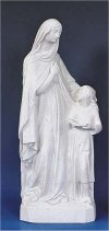 Saint Anne & Child Granite Sculpture 24