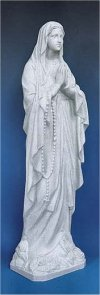 Our Lady Of Lourdes Granite Statue 24