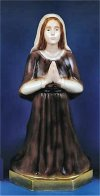 Saint Bernadette Statue Colored 16