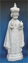 Infant Of Prague Faux Granite Statue 24
