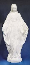 Our Lady Of Grace Garden Statue White 32