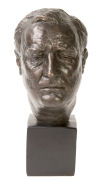 Franklin D. Roosevelt Bust Sculpture