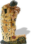 The Kiss Sculpture By Gustav Klimt