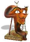 Fried Bacon Statue Self Portrait by Salvador Dali