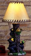 Bear Lamp Sculpture Decorative Art