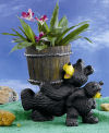Bear Planter Decorative Pot Sculpture