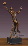 Basketball Player Sculpture Large Trophy
