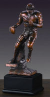 Football Player Sculpture 10