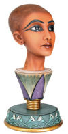 Tut Emerging Bust Sculpture