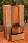 Guillotine Garden Cast Stone Fountain