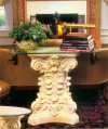 Corinthian Wall Console Table Base