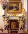 Bacchus Console Table Base Set