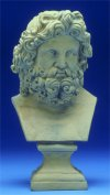 Neptune Bust Statue 12