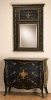 Bombay Chest With Matching Mirror