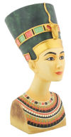 Nefertiti Egyptian Queen Bust Sculpture