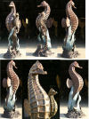 Seahorse Water Feature