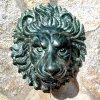 Lion Head Spouting Wall Plaque 14