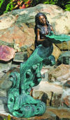Mystical Mermaid Water Feature 30